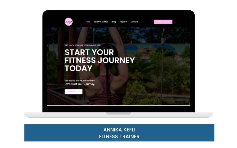 ANNIKA KEFLI PHYSICAL FITNESS TRAINER FOR WOMEN LADIES - GROUP OR PERSONAL WORKOUT