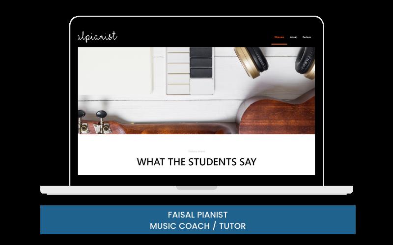 FAISAL PIANIST - MUSIC TUTOR- MUSIC COACH - PIANO TRAINER - LEARN GUITAR UKELELE