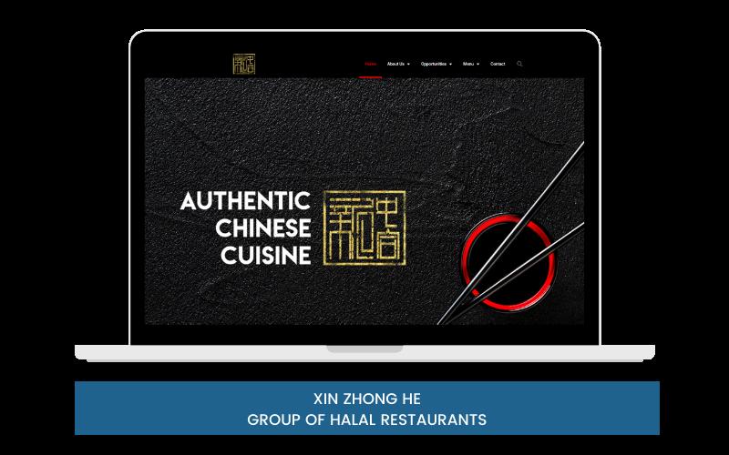 XIN ZHONG HE - GROUP OF HALAL RESTAURANTS