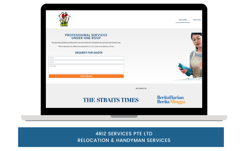 4RIZ RELOCATION AND HANDYMAN SERVICES IN SINGAPORE